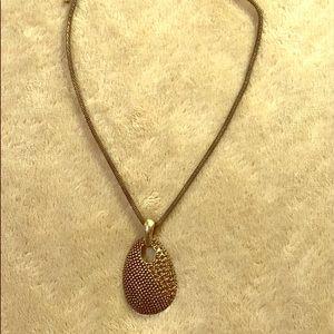 Lia Sophia Antique Gold Necklace